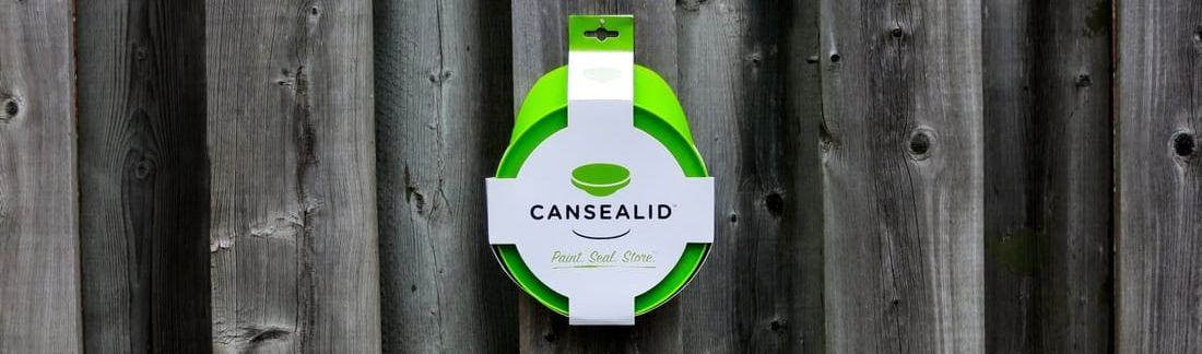 Cansealid Paint Can Lid for an airtight seal on your paint can lids for fresh paint